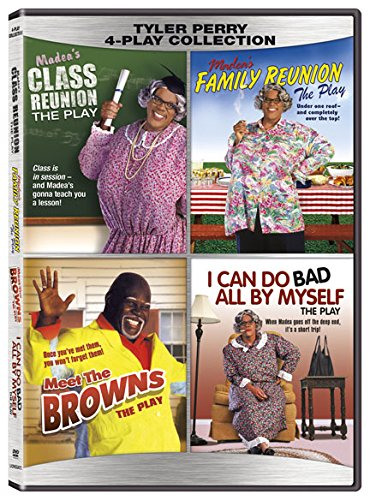 Black Plays - Tyler Perry 4 DVD collection