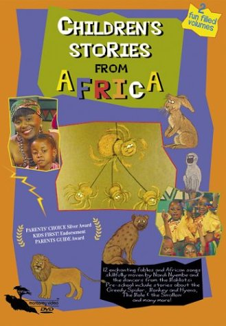 CHILDRENS STORIES FROM AFRICA - DVD (2 Fun Filled Volumes)